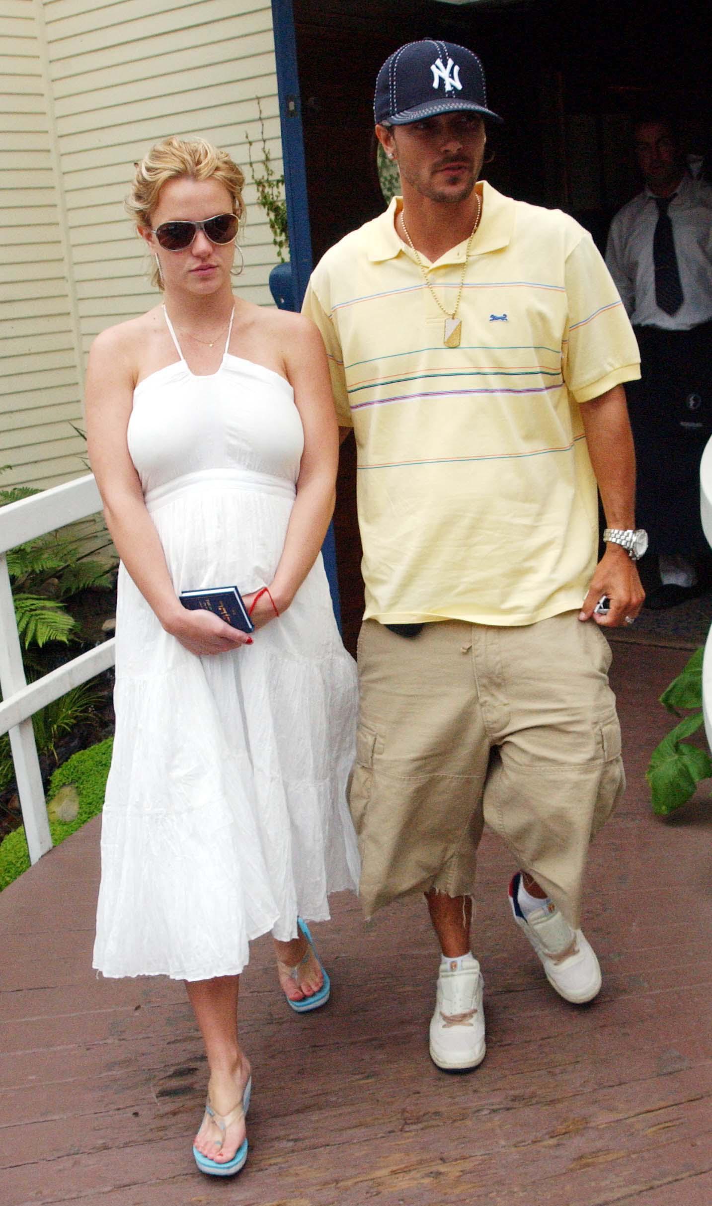 Kim spears wedding