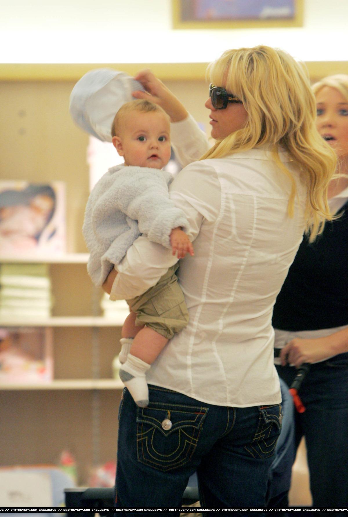 Бритни спирс и дети фото